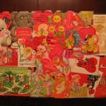 Laminated valentine placemat