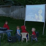 Family camping hack: Start in the backyard (plus, how to make an outdoor movie screen)