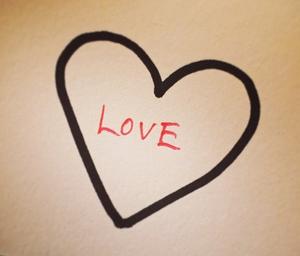 Sharpie Valentine