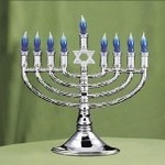 "Mark a Hanukkah menorah ""safe boundary"" with tape"