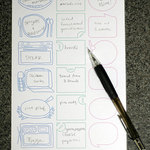 Printable: cute meal planning template