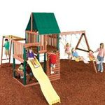 How to avoid static electric shocks at the bottom of the playground slide