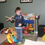 Stuffed animal + paint stir sticks = DIY marionette puppet!