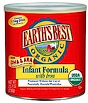 Earth's Best organic formula
