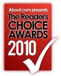 About.com Reader's Choice Award finalist