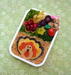 Thanksgiving bento