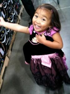 Darryl's adorable daughter