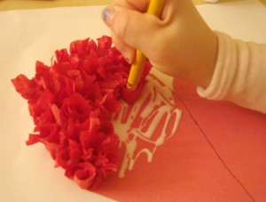 Boston Mamas: Rosebud valentines