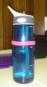 Silicone Bracelet water bottle ID