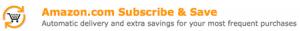 Amazon: Subscribe & Save