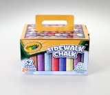 Amazon: Crayola 52 Ct Chalk Carton