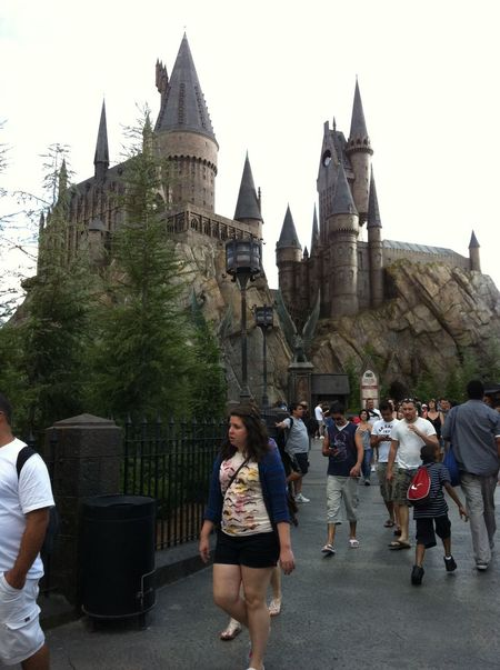 Hogwarts Castle in The Wizarding World of Harry Potter (part of Islands of Adventure)