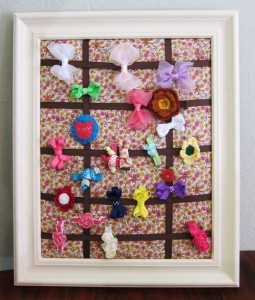 Prudent Baby: Hair Clip Board