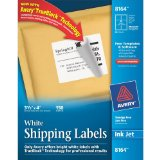 Amazon: Avery Shipping Labels for Ink Jet Printers with TrueBlock Technology, 3.33 x 4 Inches, White, Pack of 150