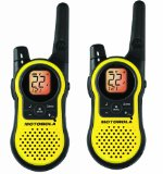 Amazon: Motorola MH230R 23-Mile Range 22-Channel FRS/GMRS Two-Way Radio (Pair)