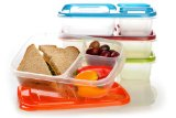 Amazon: EasyLunchboxes 3-compartment Bento Lunch Box Containers (Set of 4)