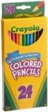 Amazon: Crayola 24ct Long Colored Pencils