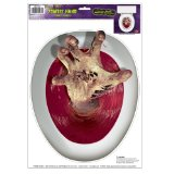Amazon: Zombie-Hand Peel 'N Place Toilet Topper