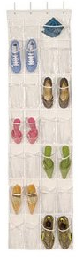 Amazon: Amazon: Over The Door Clear Shoe Organizer/Storage Rack