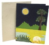 Amazon: Mr. Ellie Pooh Elephant Dung Paper Single Greeting Card
