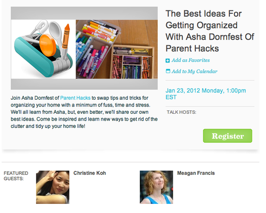 The Best Ideas For Getting Organized with Asha Dornfest