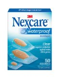 Amazon: Nexcare Waterproof Clear Bandage Assorted Sizes, 50-Count Packages (Pack of 4)