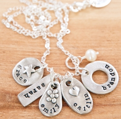 Lisa Leonard Designs: Jumble of Charms Necklance