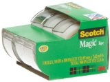 Amazon: Scotch Magic Tape, 3/4 x 300 Inches, 3-Pack