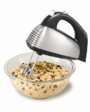 At Amazon: Hamilton Beach 6-Speed Classic Hand Mixer