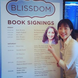 "Christine and ""me"" at Blissdom, Dallas, TX"