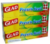 At Amazon: Glad Press'n Seal (3-pack)