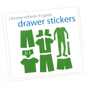 Crafterhours: Drawer Stickers