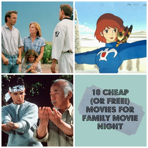 10 Cheap (or Free!) Movies for Family Movie Night
