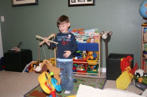 DIY marionette (photo used with permission)
