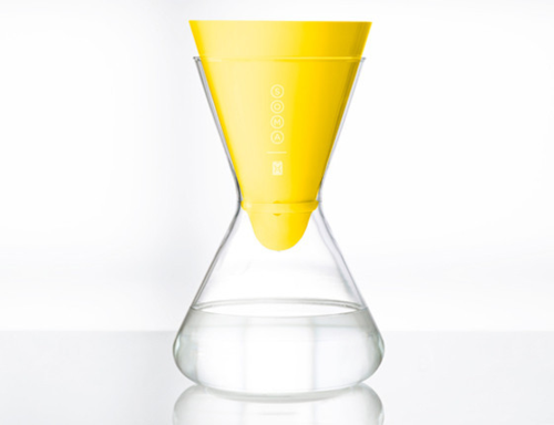 Soma water pitcher (limited edition for charity:water)