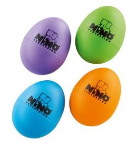 Amazon: Nino Percussion NINOSET540-2 Plastic Egg Shaker Assortment, 4 Pieces: Aubergine, Grass Green, Orange, Sky Blue (affiliate link)
