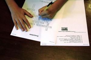 Crossword puzzle test review